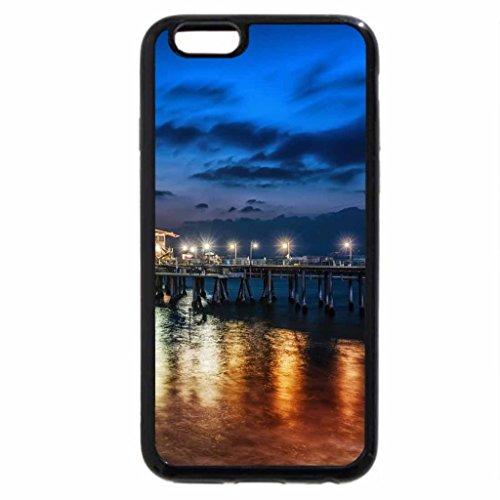 iPhone 6S / iPhone 6 Case (Black) santa monica pier at dusk