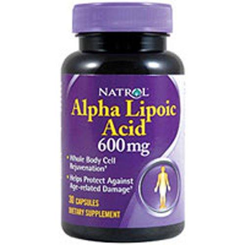 Natrol Alpha Lipoic Acid Capsules