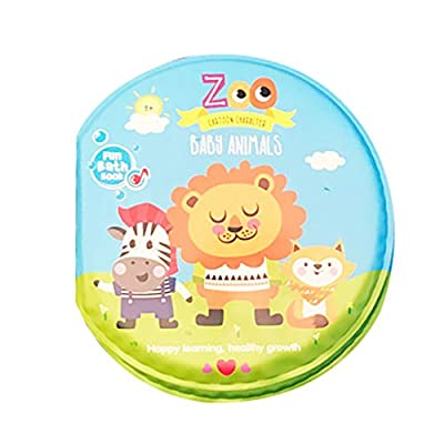 Bath Books Baby Education Toy Intelligence Development EVA Floating Cognize Book, Bath Book Baby Tear-Proof Tarpaulin Book with: Arts, Crafts & Sewing