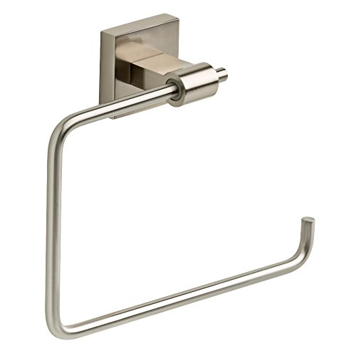 Franklin Brass MAX46-SN Maxted Towel Ring, Satin Nickel