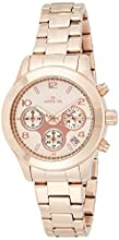 Invicta Women's 19218 Angel Analog Display Japanese Quartz Rose Gold Watch