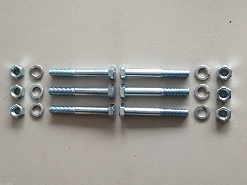 500101 King Kutter Grade 2 Shear Bolts Set of 6 Best Price in (2 The Bolts)