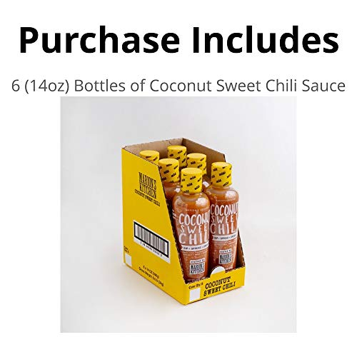 Marion S Kitchen Coconut Sweet Chili Sauce 6 Pack 14 Oz