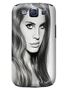 Derricka D. Pearson TPU Lana Del Rey Plastic Protective Skin Case Cover Fit for Samsung Galaxy note3
