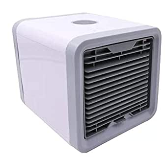Arctic Air Personal Space Cooler,Portable Air Conditioner,Humidifier and Purifier,Desktop Cooling Fan with 3 Speeds and 7 Colors LED Night Light for Office Home Outdoor Travel, USB Charging Supported