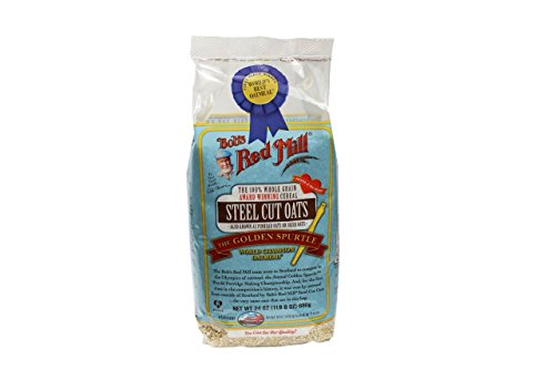 Bob's Red Mill Steel Cut Oats, 24 Oz (4 Pack)