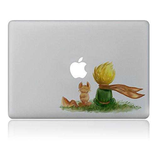 GTNINE MacBook Stickers Little Prince Sticker MacBook Decals Laptop Skin Sticker Vinyl Removable stickers for Apple Macbook Air 13