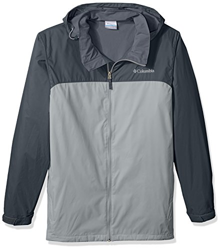 Columbia Men's Big and Tall Glennaker Lake Lined Rain Jacket, Grey, Graphite, LT