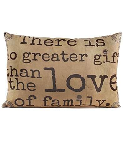 Blossom Bucket Decorative Throw Pillow- No Greater Gift