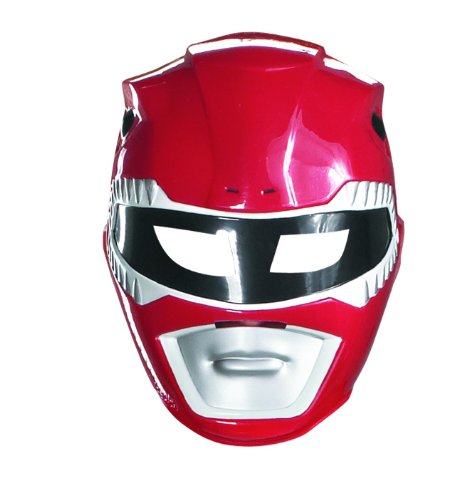 Mighty Morphin Power Ranger Costumes For Adults (Red Power Ranger Vacuform Mask)
