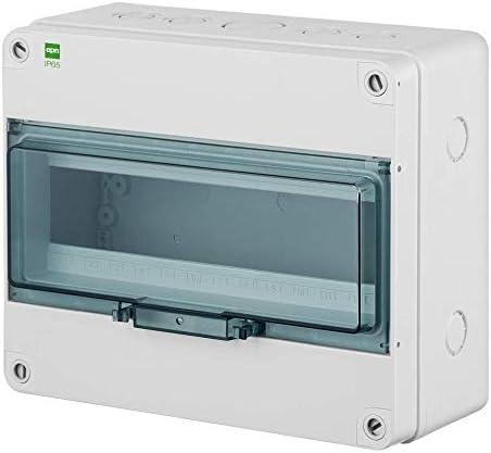 Naka24 Fe Hermetica - Caja de distribución pequeña (IP 65, 400 V ...