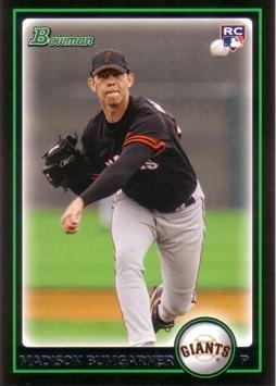 2010 Bowman Baseball #206 Madison Bumgarner Rookie Card 2010 Bowman Baseball