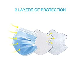 3-Ply Disposable Protection Cover (50Pack)