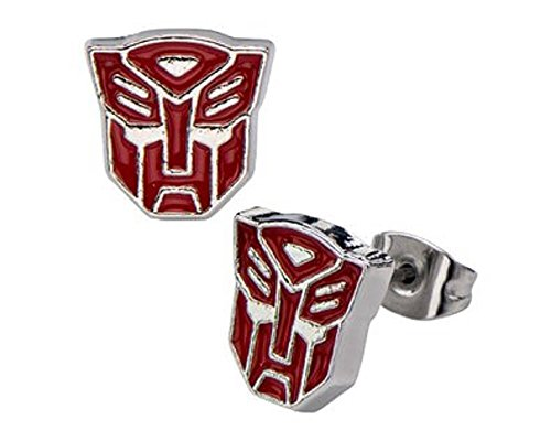 hasbro-transformers-red-autobot-logo-stud-earrings-316l-stainless-steel-tfmaer01