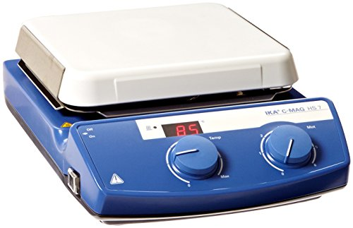 IKA WORKS INC. 3581201 C-MAG HS 7 IKAMAG Hot Plate Magnetic Stirrer, Glass Ceramics Heating Plate, 115V by IKA