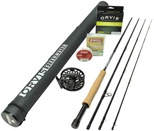 2019 Orvis Clearwater 763-4 Fly Rod Outfit 7 6 3wt