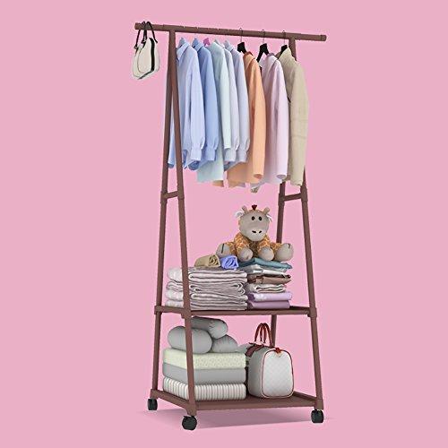 SL&VE Clothing Garment rack Coat Organizer Storage Shelving