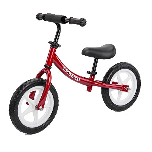 Balance Bike for Boys and Girls, Classic No Pedal Lightweight Bicycles w/ Air Tires and Adjustable Seat & Handlebar for 2-7 Year-Old Toddlers, Best Walking Bikes w/ Foam Protection, New, Easy and Fun