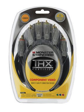 Monster Standard Thx Certified Component Video Cable (126044) ()
