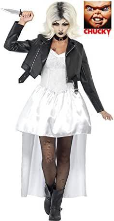 Chucky Disfraz de Novia Blanco para Mujer: Amazon.es: Juguetes y ...