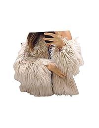Flank New Ladies Womens Warm Faux Fur Fox Coat Jacket