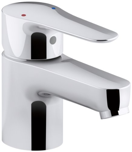 KOHLER K-16027-4-CP July Single Handle Bathroom Sink Faucet, Polished Chrome by Kohler