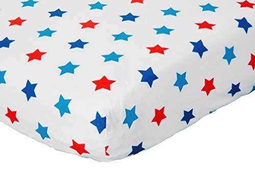 Bloomsbury Mill - 4 Piece Toddler Comforter Set - Outer Space, Rocket & Planet - Blue - Kids Bedding Set 5