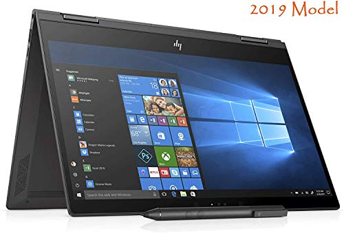 HP Envy Touch 13z x360 Convertible Ultra Thin Laptop Ryzen 5 Quad Core up to 3.6GHz 8GB 256GB SSD 13.3in FHD B&O Audio Vega 8 Graphics (Renewed)