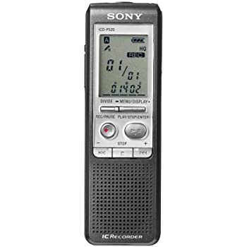 amazon com sony icd p520 digital voice recorder with 256 mb built rh amazon com sony digital voice recorder manual sony icd bx140 digital voice recorder user manual