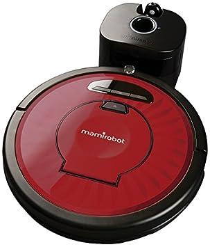 Mamirobot KF5 Wine - Robot aspirador, con función mopa, color rojo