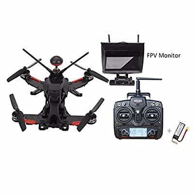 Walkera Runner 250 PRO DEVO 7 TX RC Racing Drone RC Quadcopter With 1080P Camera /OSD /DEVO 7/GPS/Battery /Charger /5.8G FPV Monitor (High Version) from Walkera