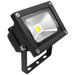 Long Life Lamp Company LLLCFL10WW - Foco LED SMD para iluminación exterior (10 W, ideal para recambio de foco halógeno R7S y focos de seguridad, luz blanca cálida)