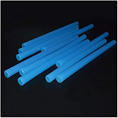 WNJ-TOOL, 2 Unids/pack Alta Viscosidad 11 * 180mm Sticks de pegamento de fusión en caliente 11mm Stick de pegamento de color azul for pistola de pegamento caliente DIY Craft Multi Repair Tool: