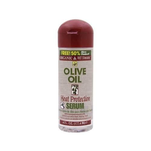 Organic Root Olive Oil (Organic R/S Root Stimulator Olive Oil Heat Protection Serum, 6 Ounce)