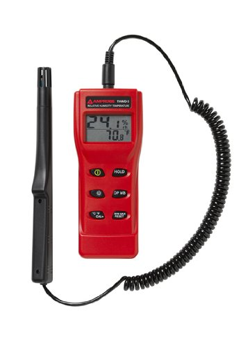 Price comparison product image Amprobe THWD-5 Temperature and Relative Humidity Meter with Wet Bulb and Dew Point