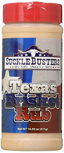 SuckleBusters Texas Brisket Rub, 14.50 oz. (Rub Brisket Texas)