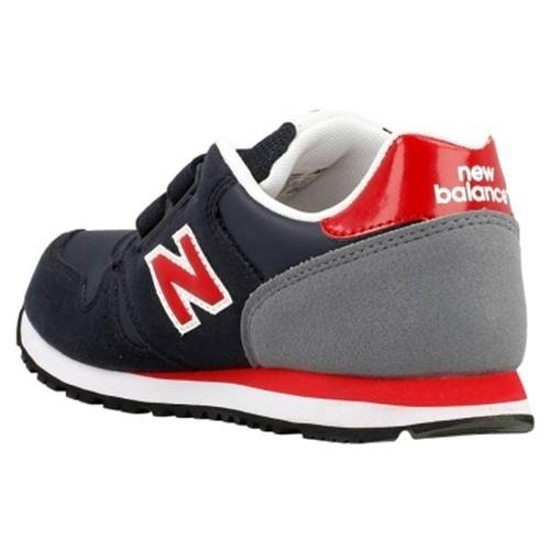 New Balance NBKV500BAP Sneaker, Bambino Blu/Rosso