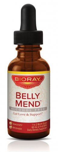 BIORAY Belly Mend, Gut Love and Support, 2 Ounce
