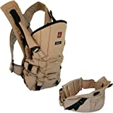 Okkatots Baby Carrier System Includes Waistband-Black