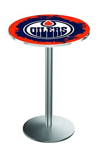 Edmonton Oilers Pub Table - Holland Bar Stool Co. Edmonton Oilers Pub Table
