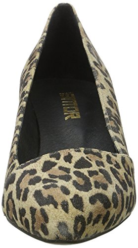 Mentor Damen W7571 Pumps Mehrfarbig (Leopard)