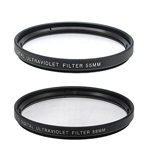 55mm and 58mm Multi-Coated