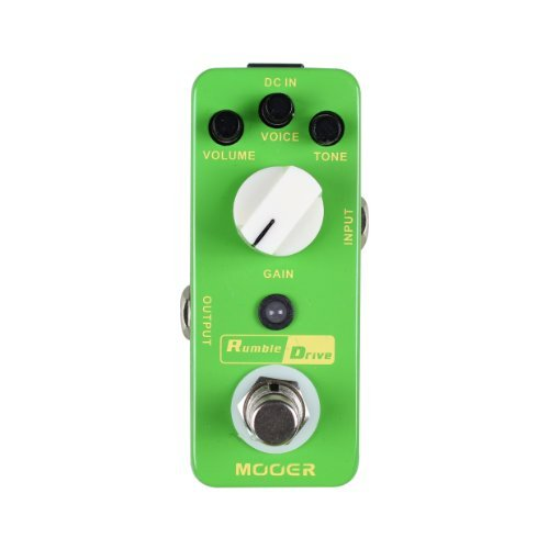 Mooer MOD2 Rumble Drive Overdrive Guitar Distortion Effects Pedal 【TEA】 [並行輸入品] B07BS1W4DR