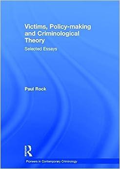 contemporary criminology theory