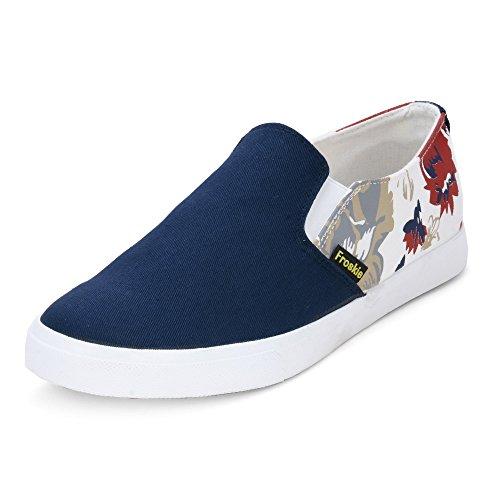 Buy Froskie Men's Casual Blue Canvas