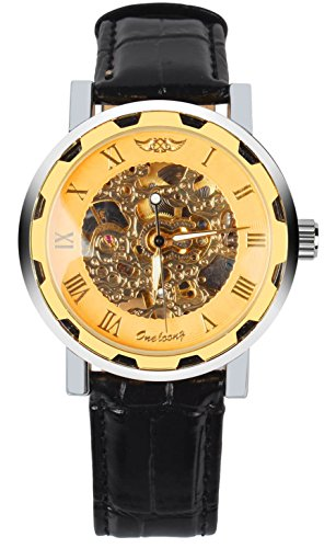 gold colored watch - 8
