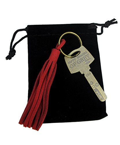 50 Fifty Shades of Grey KEY Chain Lob Props Christian Red Room (Shades 50 Room Of Grey Red)