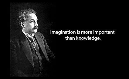 Amazon 20 X 30 Xxxl Poster Albert Einstein Quote Imagination Is