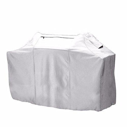 Outdoor Cart BBQ Cover All Weather Protected Patio Gas Grill Cover Large (64 in.L x 24 in.W x 48 in.H) For Sale