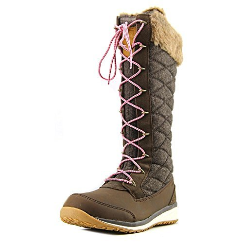 Salomon Women's Hime High Snow Boot - Absolute Brown - 9 ...
